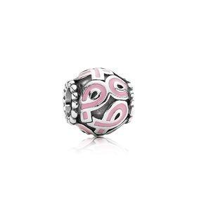 Pandora Pink Breast Cancer Charm